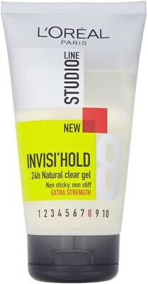 £3.49 • Buy L'Oreal Studio Line Invisi'Hold Extra Strength Hair Gel Non Sticky Flaking 150ml