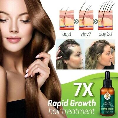 AU14.15 • Buy Regrow 7 Day Ginseng Germinal Hair Growth Serum Hairdressing Oil Loss Treatment