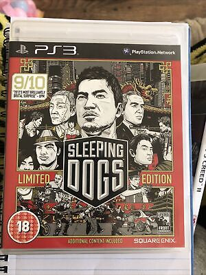 £2.49 • Buy Sleeping Dogs -- Limited Edition (Sony PlayStation 3, 2012)