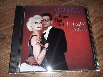 £22 • Buy Madonna - WHO'S THAT GIRL Extended Edition - CD Album
