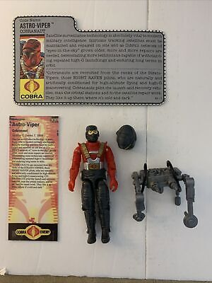 $ CDN12.10 • Buy GI Joe Astro Viper Cobra Weapon Vintage 80s Old Mixed Toy Part Action Figure Lot