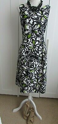 £8 • Buy Jessica Howard Cotton Floral Print Sleeveless Dress - Lined Size 14
