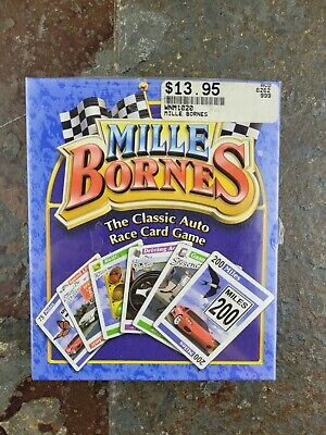 $22.99 • Buy Mille Bornes Card Game Parker Brothers The Classic Auto Race Complete SEALED