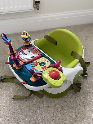 £5 • Buy Mamas & Papas Baby Bud Booster Seat With Activity Tray
