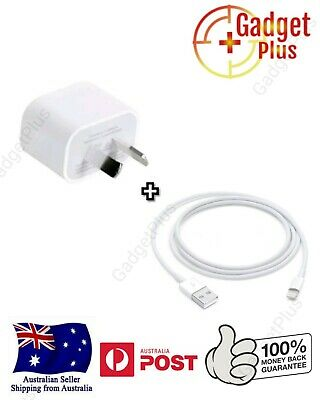 AU11.50 • Buy Apple Wall Charger Lightning Cable Genuine Apple For IPhone 5 6 7 8 X XR XS AU