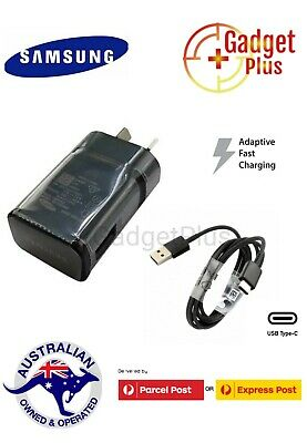 AU6.99 • Buy GENUINE SAMSUNG Adaptive FAST Wall Charger For Samsung Galaxy S9 S8 S7 Note 8 9
