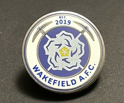 £2.50 • Buy Wakefield AFC (New Crest) Non-League Football Pin Badge