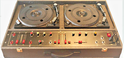£549 • Buy Retro Northern Soul Citronic CL12D Twin Decks With Powered Torodial Amplifier