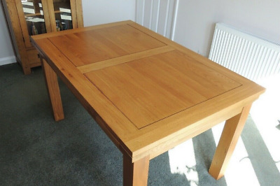 AU187.68 • Buy Solid Oak Extending Dining Table