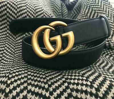 AU225.36 • Buy Gucci Belt Genuine Leather 30mm Unisex