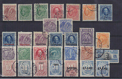 £18.14 • Buy Crete Greece 1900/1910, 30 Stamps