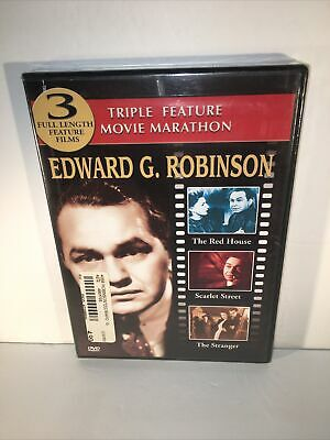 £14.14 • Buy Edward G Robinson DVD Triple Feature The Red House Scarlet Street The Stranger