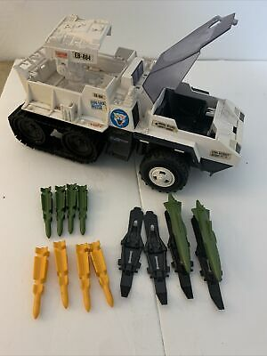 $ CDN12.10 • Buy Vintage 1985 GI Joe SNOW CAT Vehicle SNOWCAT With Extra Green Missiles