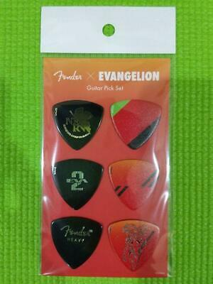 $ CDN31.70 • Buy Fender Guitar Pick EVANGELION Japan Limited Free Ship Fedex