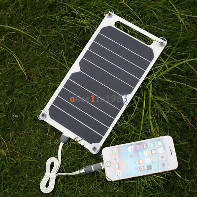 £8.55 • Buy 10W 5V Portable Solar Power Panel Charger For Samsung IPhone Tablet Pad