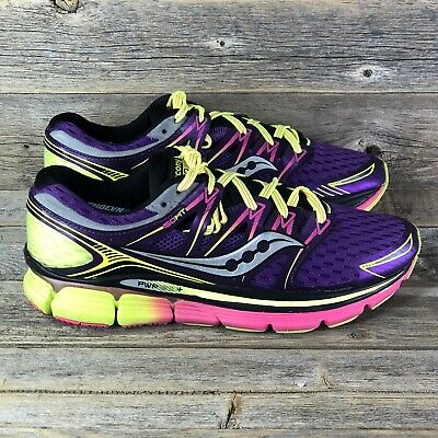 $ CDN32.61 • Buy Saucony Triumph ISO Running Shoes Womens Size 8.5 Purple Pink Sneakers S10262-3