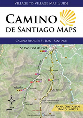 £15.17 • Buy Dintaman, Anna-Camino De Santiago Maps BOOK NEW