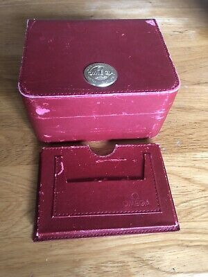 £55 • Buy Genuine Omega Inner Red Watch Box And Cardholder