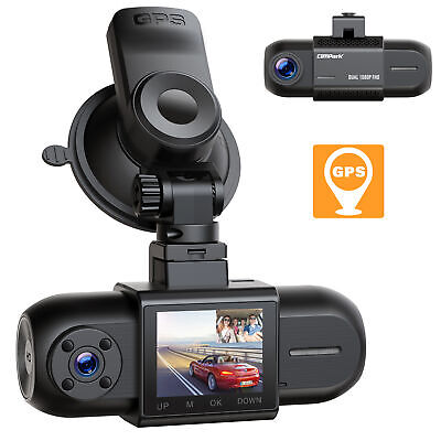 AU62.63 • Buy TOGUARD Mini Dash Cam WDR 1080P Dual Lens Front And Rear Camera Driving Recorder