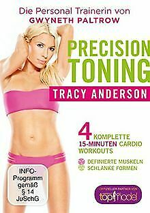 £6.84 • Buy Die Tracy Anderson Methode - Precision Toning | DVD | Condition Good