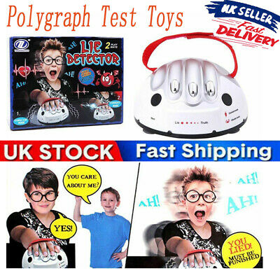£9.99 • Buy Lie Detector Game Toys Safety Electric Shock Polygraph Adult Lie Truth Test Game