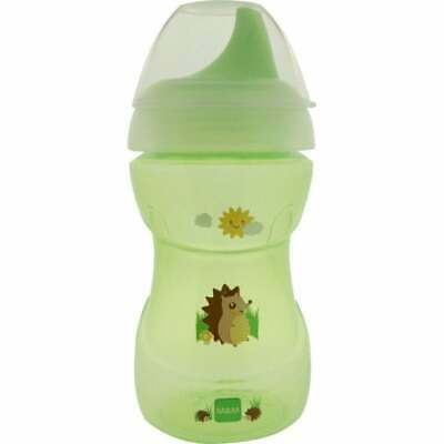 £3.75 • Buy MAM Fun To Drink Cup 8m+ 270ml - Green - Designs May Vary