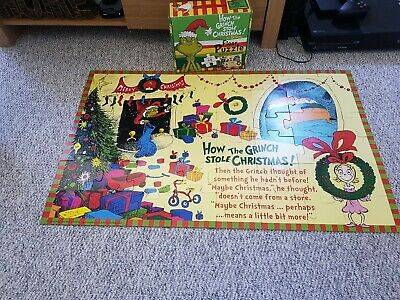 £20 • Buy How The Grinch Stole Christmas Floor Puzzle
