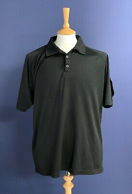 £20.99 • Buy British Police Force Black Tactical Polo Shirt. Size XL. 46  Chest. Short Sleeve