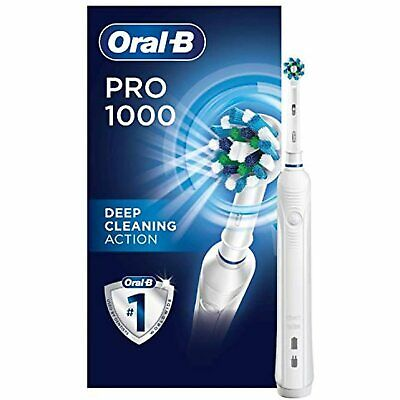 AU46.15 • Buy Oral-B Pro 1000 Power Rechargeable Electric Toothbrush Powered By Braun