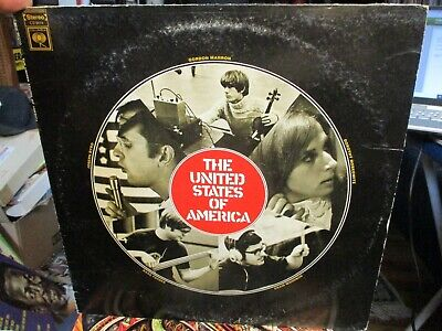 £32.56 • Buy Original 1967 THE UNITED STATES OF AMERICA S/T LP Columbia Psych Electronic VG+