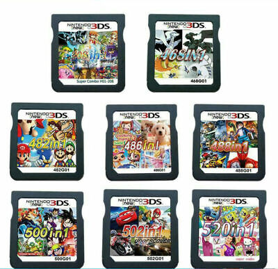 £9.99 • Buy ALL In 1 Games Cartridge Video Game Multicart For Nintendo NDS NDSI NDSL 3DS DS