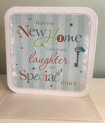 £2.29 • Buy Happy New Home Card. In Your New Home.  By Simon Elvin. Handmade /Wrapped.