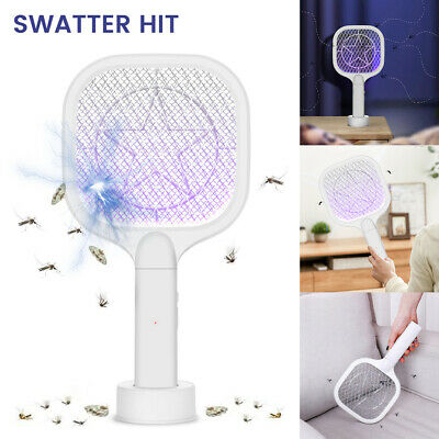 £8.99 • Buy Electric Fly Insect Racket Zapper Killer Swatter Catcher Trap Bug Mosquito Wasp