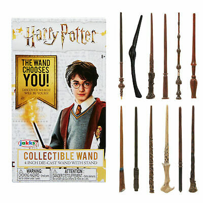 £5.95 • Buy HARRY POTTER Mini Die-Cast Wand 4  - 12 TO COLLECT - NEW - Choose Your Favourite