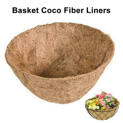 £3.29 • Buy 7.87 Inch Wide Coconut Fibre Flower Hanging Planter And Wall Basket Liner Roll