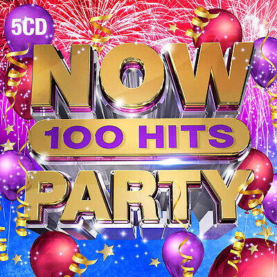 £10.99 • Buy Now 100 Hits: Party (2019, NOW) CD Box Set