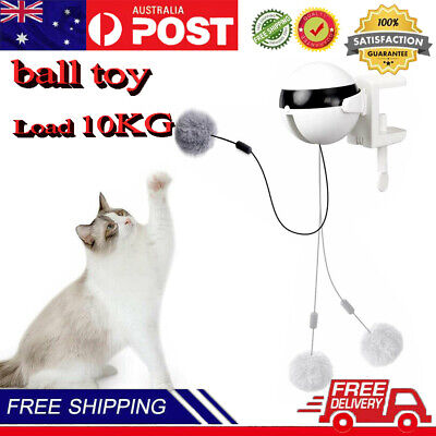 AU17.99 • Buy Electric Cat Toys Ball Automatic Lifting Interactive Puzzle Smart Pet Cat Toy A+