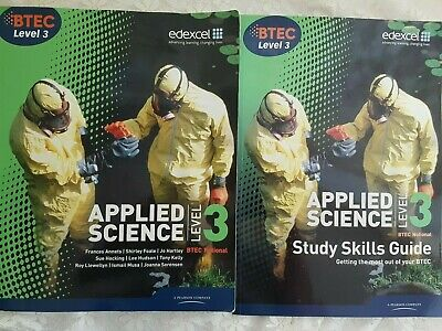 £22.50 • Buy BTEC Level 3 National Applied Science Student Book / Study Skills Guide