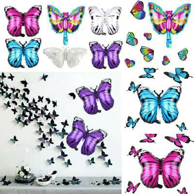 $4.13 • Buy HOT 3D Butterfly Shaped Foil Ballon Wedding Room Kids Birthday Party Decor Toy M