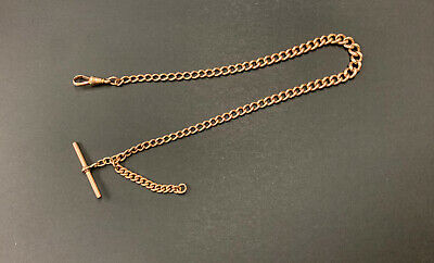 £750 • Buy Superb Antique Solid 9ct Rose Gold Albert Watch Chain