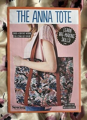 £5.95 • Buy The Anna Tote: Beginners Bag Making Sewing Pattern