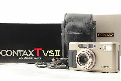 $ CDN870.90 • Buy [Almost MINT In BOX W/ Case] Contax TVS II Point & Shoot Film Camera From JAPAN
