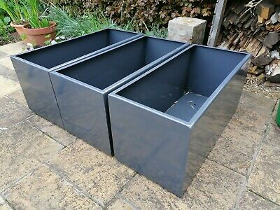 £180 • Buy Hand-made Modern Painted Steel Garden Planter / Trough With FREE UK Delivery