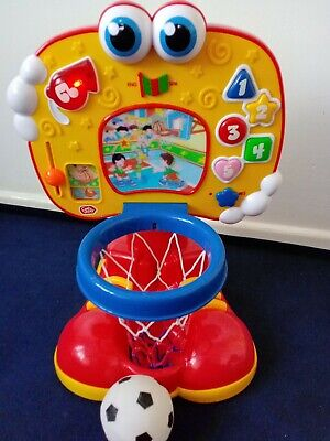 £12.99 • Buy Chad Valley Basket Ball Interactive, Learning,lights & Sounds Activity Toy