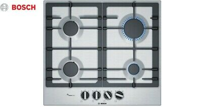 £200 • Buy BOSCH PCP6A5B90 60cm Built-in Stainless Steel Kitchen Gas Hob New!!!