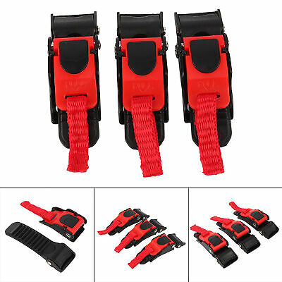 £5.75 • Buy 3pcs Motorcycle Helmet Speed Clip Quick Release Chin Strap Button Pull Buckle