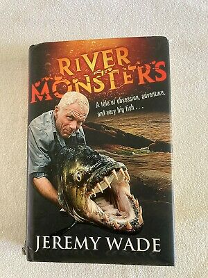 £49 • Buy River Monsters By Jeremy Wade (Hardback, 2011)*SIGNED* Rare Undedicated