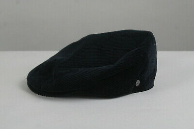 £14.86 • Buy LIERYS Unisex SMALL Corduroy Quilted Lining Cordial Flat Cap ITALY MADE! 21171_S