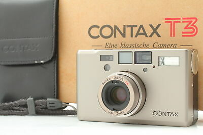 $ CDN2672 • Buy [TOP Top MINT CLA'd In BOX] CONTAX T3 Point & Shoot W/ Strap, Case From JAPAN