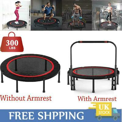 £54.89 • Buy 40  Mini Trampoline Jumper Foldable Fitness Exercise Gym Bouncer With Handle UK